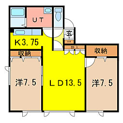 SK−VI[2階]の間取り