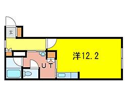緑神館[2階]の間取り