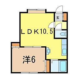 AZ-1[2階]の間取り