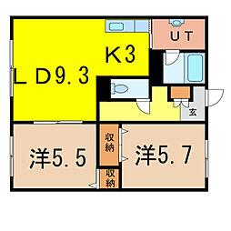 With II[1階]の間取り