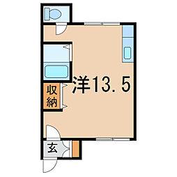WestRiver1・4[2階]の間取り