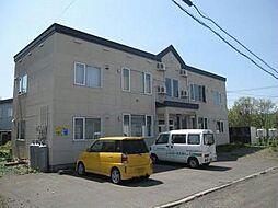 北海道旭川市旭岡4丁目の賃貸アパートの外観