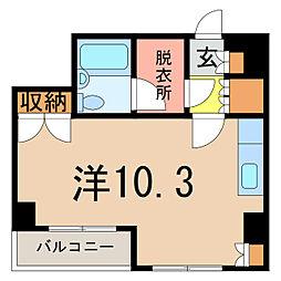 アネックスプラザ6条ビル[2階]の間取り