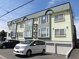 北海道旭川市永山六条13丁目の賃貸アパートの外観