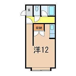 コットンハウス3[2階]の間取り