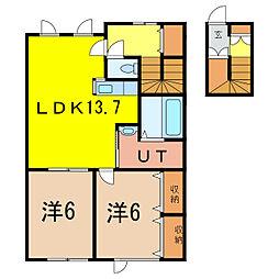 新築 ALL Blue[2階]の間取り