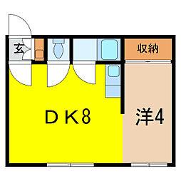 小杉マンション[1階]の間取り