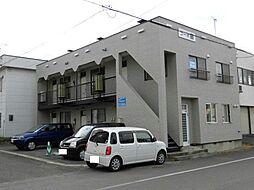 北海道旭川市東光六条3丁目の賃貸アパートの外観
