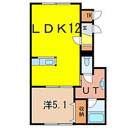 神楽岡10-3新築[1階]の間取り