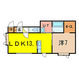 LEBEN1.1[1階]の間取り