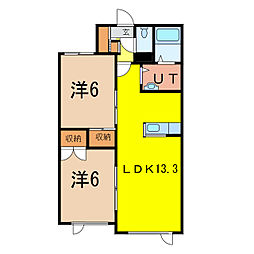 エテルノII[2階]の間取り
