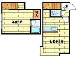 エクセレント澄川[1階]の間取り
