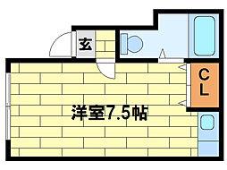 セ・ラヴィ35  (元コーポふみ)[2階]の間取り