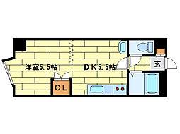アロンハイツ[3階]の間取り