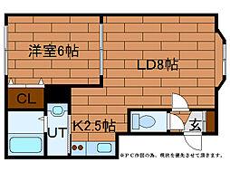 ルミエール澄川(澄川4-9)[2階]の間取り