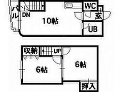 パルコート澄川[2階]の間取り