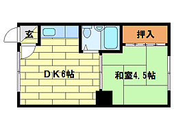 第2H・Sビル[2階]の間取り