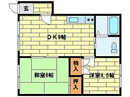 コンフォート澄川(6-11)[205号室]の間取り