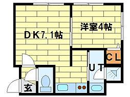 eternity sumikawa[1階]の間取り