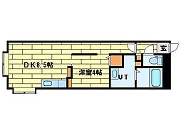 ロワ・ボヌール[3階]の間取り