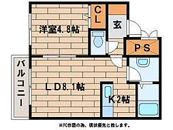エトワール(澄川2-3)[4階]の間取り