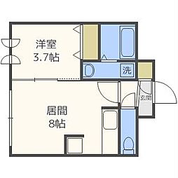 平岸駅 0.5万円