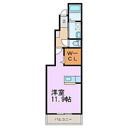 カーサ・パルドIII[1階]の間取り