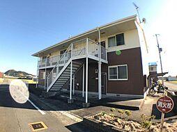 和歌山県御坊市島の賃貸アパートの外観