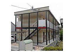 広島県福山市松永町5丁目の賃貸アパートの外観