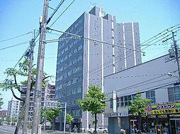 北海道札幌市豊平区中の島二条3丁目の賃貸マンションの外観