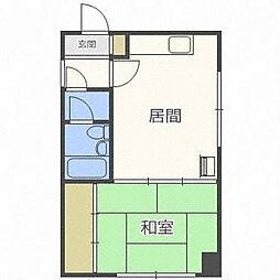 宅建ビル[5階]の間取り
