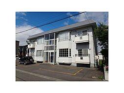 北海道札幌市東区北五十条東2丁目の賃貸アパートの外観