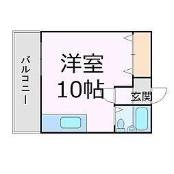 アルトゥパークマンション[10階]の間取り