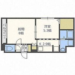 グランメールセンチュリーN21[4階]の間取り