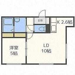 エフェクトN21[2階]の間取り