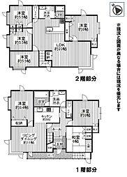 JR函館本線 小樽築港駅 徒歩15分 8LDKの間取り