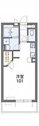 JR東北本線 東大宮駅 徒歩27分の賃貸マンション 3階1Kの間取り