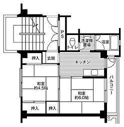 🉐敷金礼金0円!🉐ビレッジハウス行松1号棟