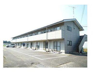 外観,1K,面積28.15m2,賃料3.5万円,JR常磐線 岩間駅 6.8km,,茨城県笠間市安居