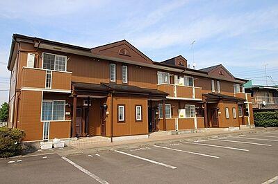 外観,2DK,面積54.32m2,賃料4.6万円,JR常磐線 内原駅 徒歩8分,,茨城県水戸市内原町