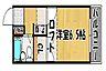 間取り,1K,面積16.8m2,賃料4.0万円,JR山陽本線 明石駅 徒歩15分,山陽電鉄本線 山陽明石駅 徒歩15分,兵庫県明石市鷹匠町2-27
