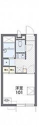 JR仙石線 陸前高砂駅 徒歩19分の賃貸アパート 1階1Kの間取り