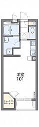 名鉄瀬戸線 尾張瀬戸駅 バス19分 本地下車 徒歩11分の賃貸アパート 1階1Kの間取り