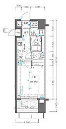 JR京浜東北・根岸線 関内駅 徒歩3分の賃貸マンション 9階1Kの間取り