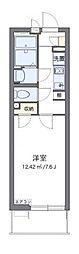 JR東海道本線 平塚駅 徒歩9分の賃貸マンション 1階1Kの間取り