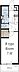 間取り,1K,面積25.93m2,賃料6.0万円,つくばエクスプレス 南流山駅 徒歩16分,JR武蔵野線 南流山駅 徒歩16分,千葉県流山市鰭ケ崎