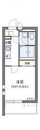 JR京浜東北・根岸線 さいたま新都心駅 徒歩12分の賃貸マンション 3階1Kの間取り