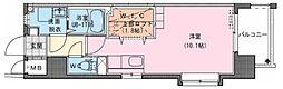 Riviere Champ 宮田町 2階ワンルームの間取り