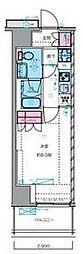 東京メトロ丸ノ内線 四谷三丁目駅 徒歩7分の賃貸マンション 5階1Kの間取り