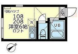 相鉄本線 星川駅 徒歩18分の賃貸アパート